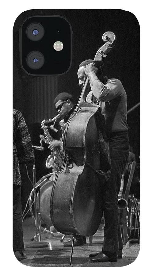 Rahsaan Roland Kirk IPhone 12 Case featuring the photograph Rahsaan Roland Kirk 2 by Lee Santa