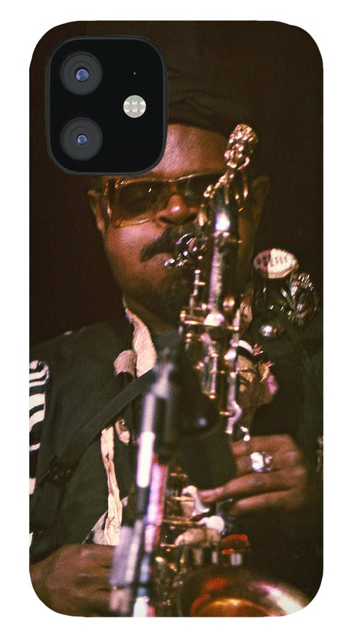 Rahsaan Roland Kirk IPhone 12 Case featuring the photograph Rahsaan Roland Kirk 3 by Lee Santa