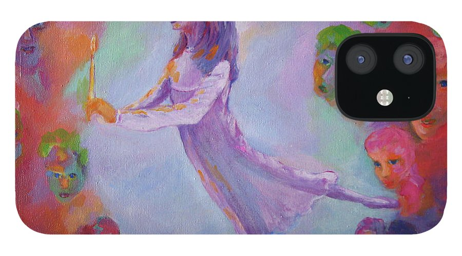 Child Remembering IPhone 12 Case featuring the painting Remembering The Nutcracker by Naomi Gerrard