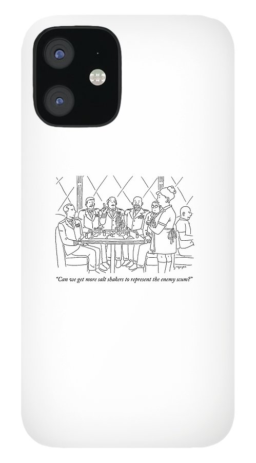 Representing Enemy Scum IPhone 12 Case