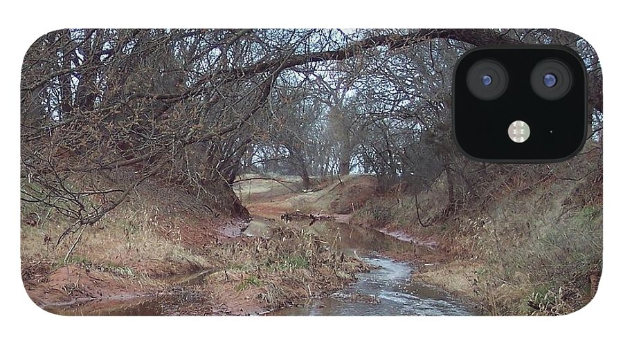 Landscapes IPhone 12 Case featuring the photograph Rivers Bend by Shari Chavira