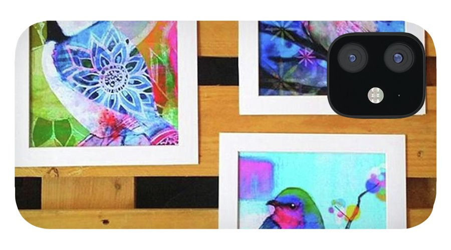 IPhone 12 Case featuring the photograph *sale* 3 11 X 14 In. Bird Prints With by Robin Mead