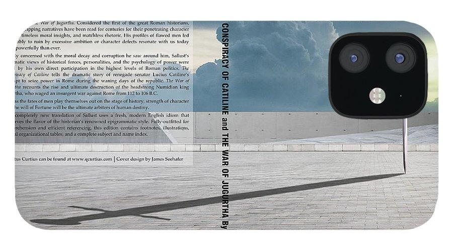 Quintus Curtius IPhone 12 Case featuring the digital art Sallust Cover by Quintus Curtius