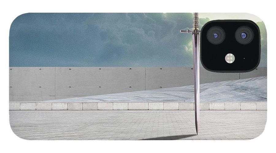 Sallust IPhone 12 Case featuring the digital art Sallust by Quintus Curtius