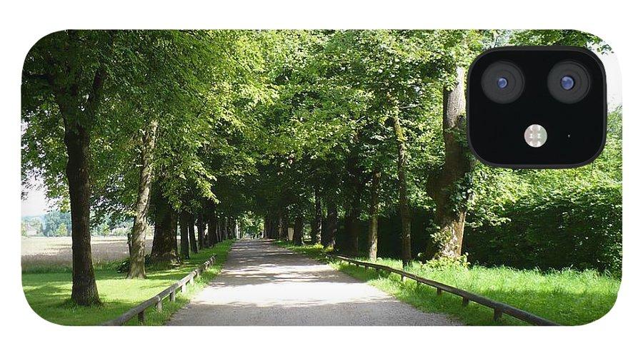 Austria IPhone 12 Case featuring the photograph Salzburg Lane by Carol Groenen