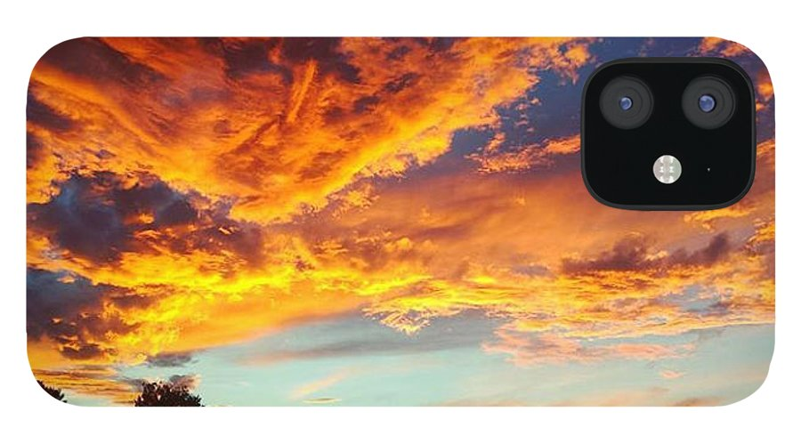 Life IPhone 12 Case featuring the digital art Sedona by Kristina Gerth