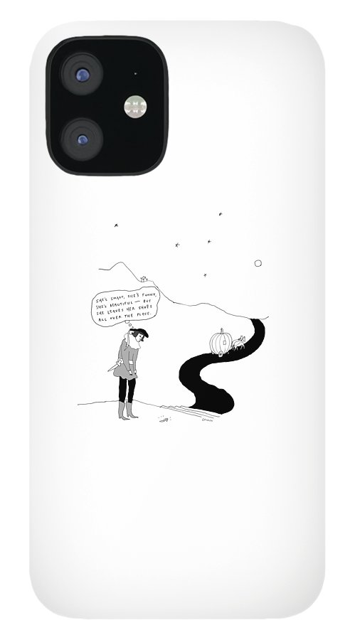 She leaves her shoes all over the place IPhone 12 Case