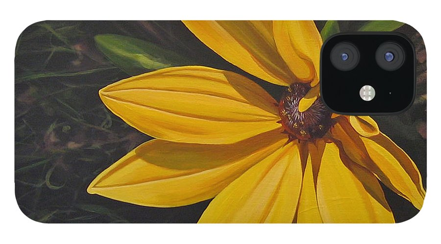 Wildflower IPhone 12 Case featuring the painting Sign of Summer by Hunter Jay