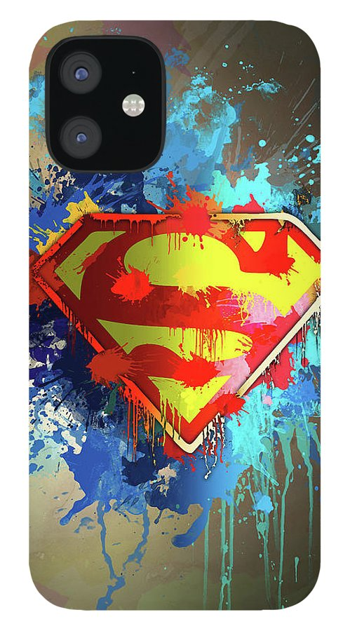 Strength IPhone 12 Case featuring the digital art Smallville by Anthony Mwangi