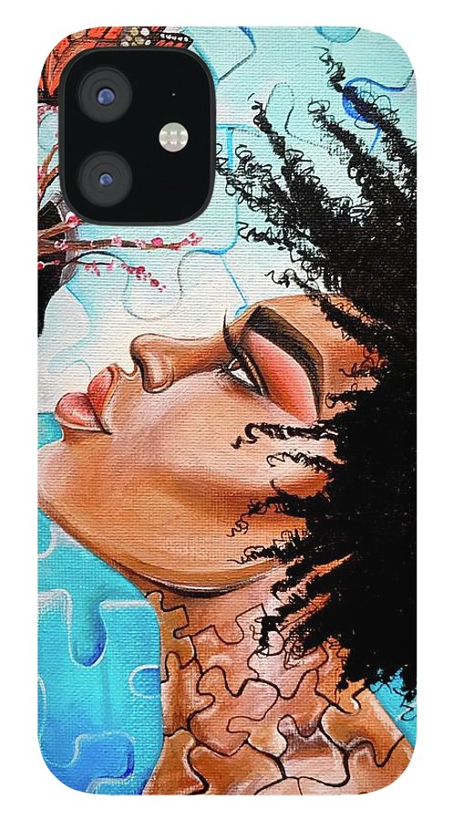 Butterfly IPhone 12 Case featuring the photograph So Much more to me that you just cant See by Artist RiA