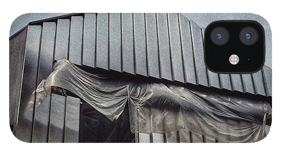 Art IPhone 12 Case featuring the photograph Soft Windows  #cityscape #building by Rafa Rivas