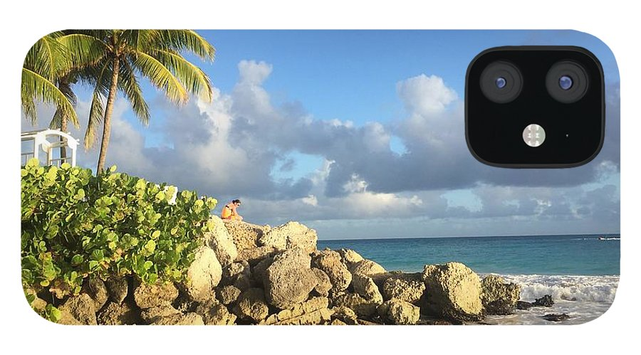 Caribbean IPhone 12 Case featuring the photograph Somewhere in Barbados by Cindy Ross