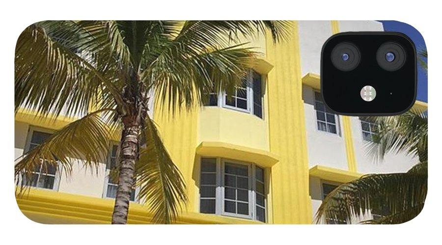 Miamiarchitecturalphotography IPhone 12 Case featuring the photograph South Beach #juansilvaphotos by Juan Silva