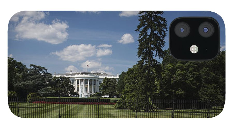 South Lawn IPhone 12 Case featuring the photograph South Lawn - White House by David Bearden
