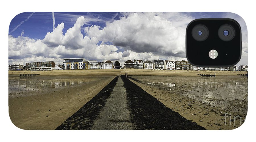 Southend On Sea IPhone 12 Case featuring the photograph Southend on Sea panorama by Sheila Smart Fine Art Photography