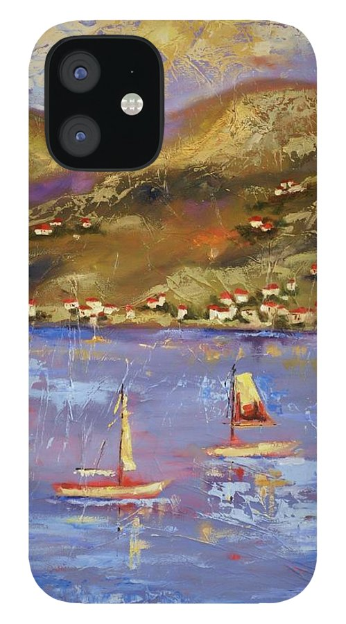 St. John IPhone 12 Case featuring the painting St. John USVI by Ginger Concepcion
