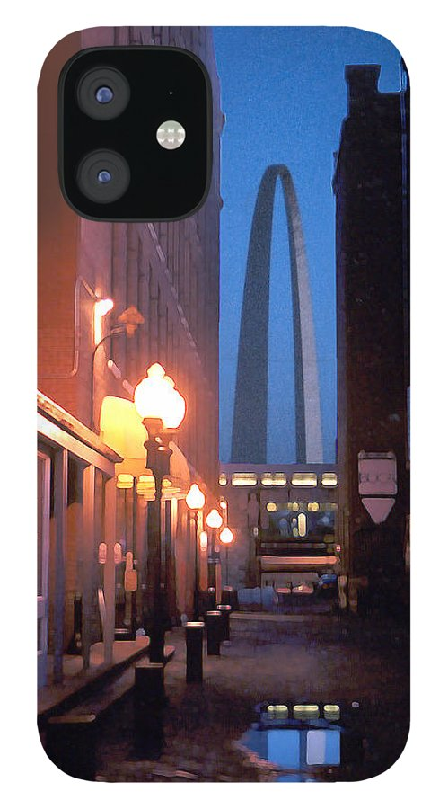 St. Louis IPhone 12 Case featuring the photograph St. Louis Arch by Steve Karol
