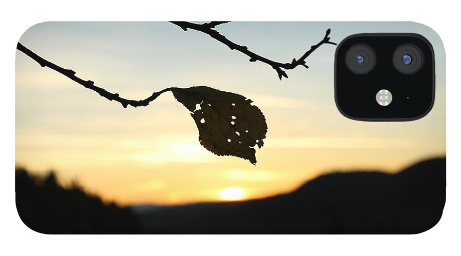 Sunset IPhone 12 Case featuring the photograph Sunset by Alena Madosova
