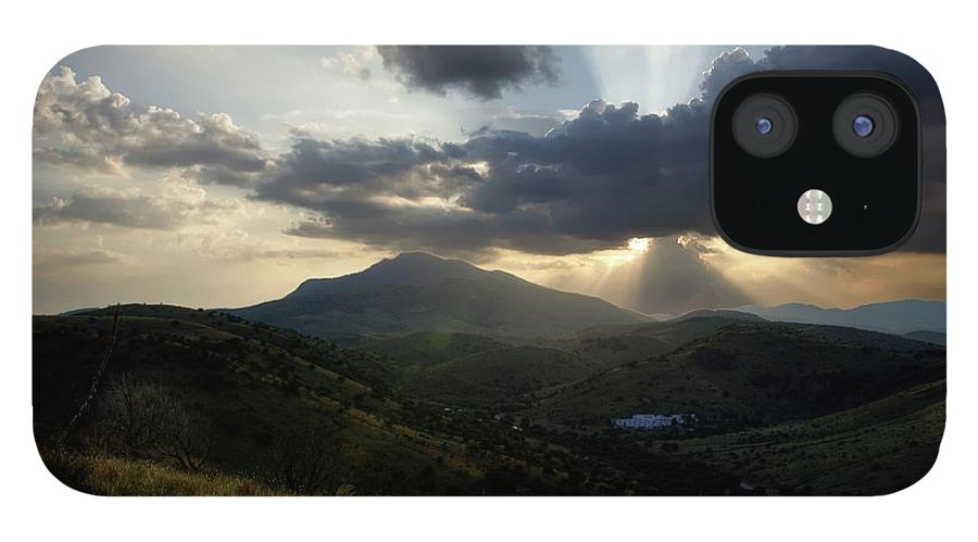 Indian Springs IPhone 12 Case featuring the photograph Sunset over Indian Springs by Roy Nierdieck