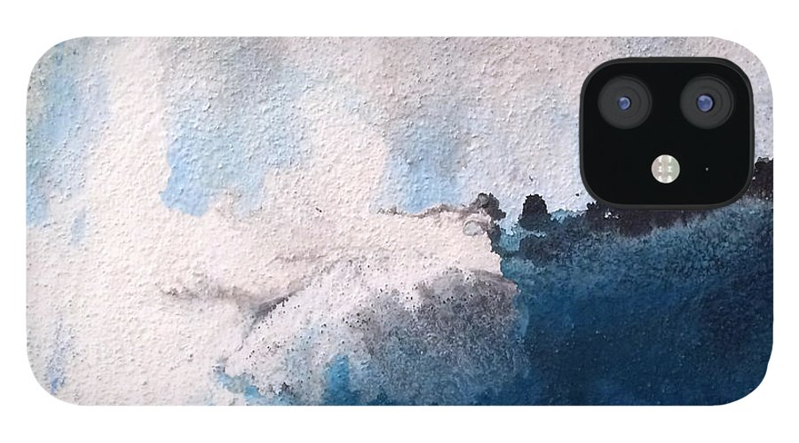 Modern Art IPhone 12 Case featuring the painting Surfing Maui by Jill English