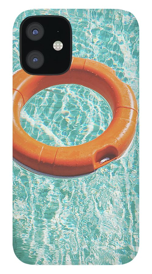 Water IPhone 12 Case featuring the photograph Swimming Pool III by Cassia Beck