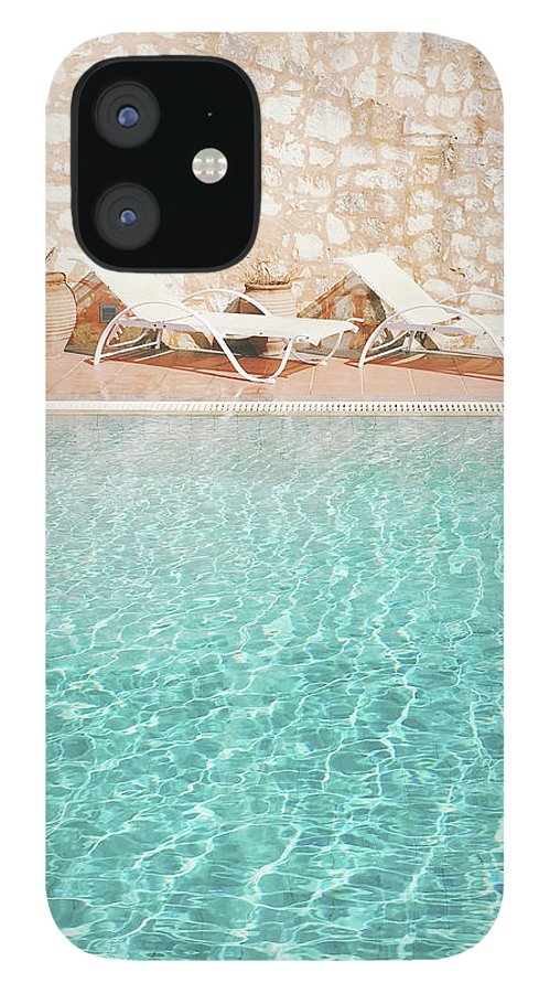 Water IPhone 12 Case featuring the photograph Swimming Pool V by Cassia Beck