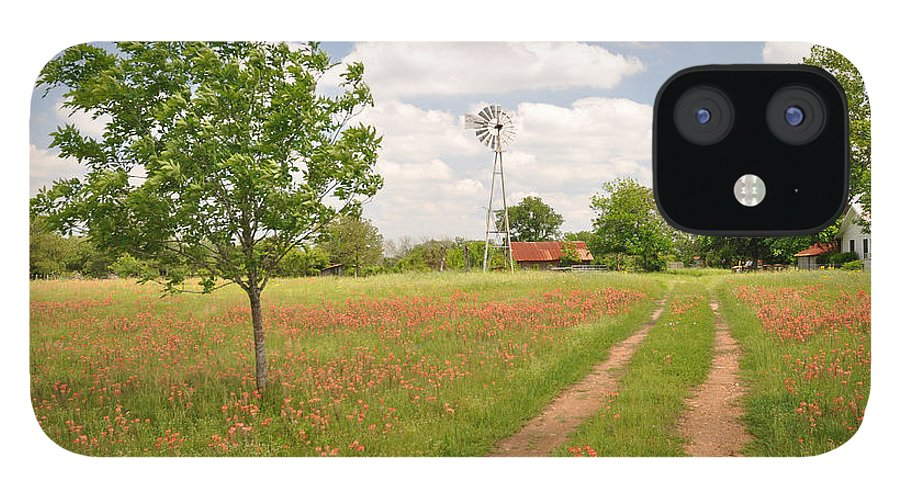 Texas IPhone 12 Case featuring the photograph Texas Wildflowers by Keith Gondron