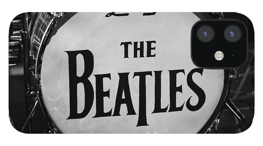The Beatles Drum IPhone 12 Case featuring the photograph The Beatles Drum by Dan Sproul