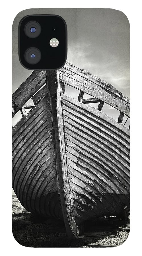Boat IPhone 12 Case featuring the photograph The Clinker by Mark Rogan