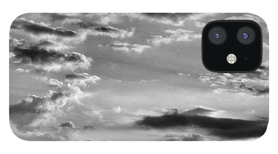 Natureonly IPhone 12 Case featuring the photograph The End Of The Day, Old Hunstanton by John Edwards