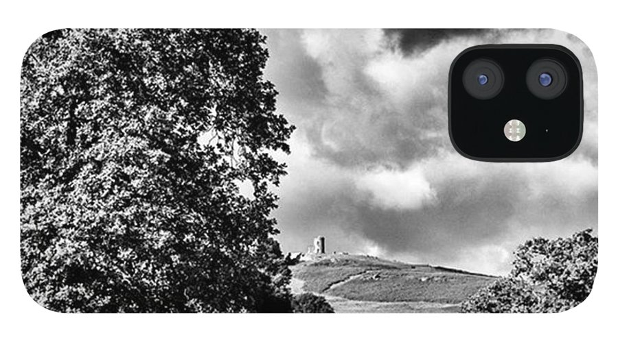 Parkland IPhone 12 Case featuring the photograph Old John Bradgate Park by John Edwards