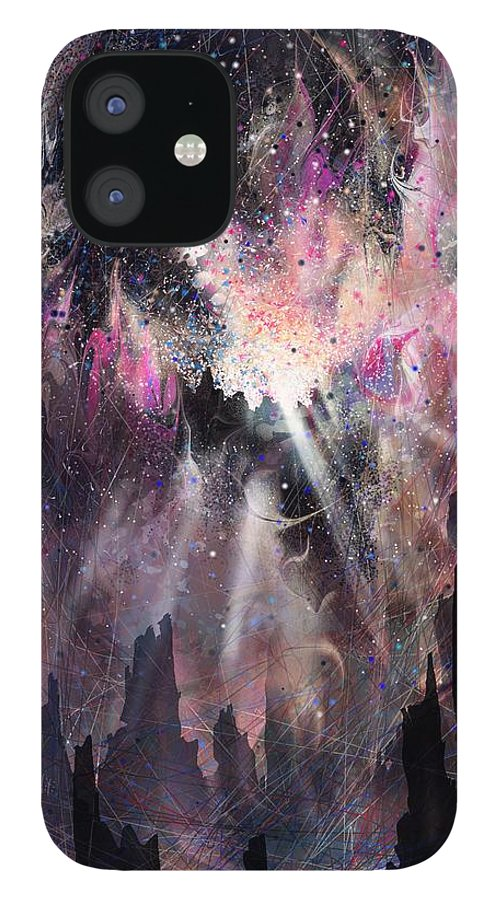 Landscape IPhone 12 Case featuring the digital art The Gift by William Russell Nowicki