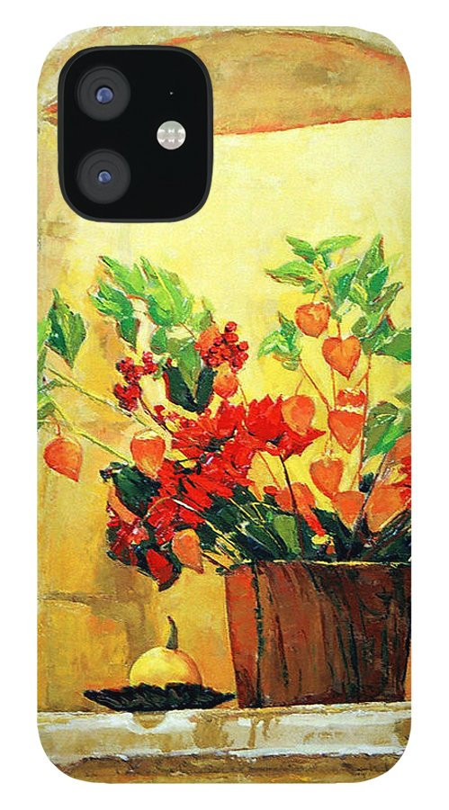 Still Life IPhone 12 Case featuring the painting The light by Iliyan Bozhanov