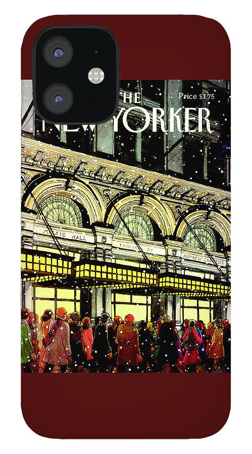 The New Yorker Cover - January 18th, 1988 IPhone 12 Case