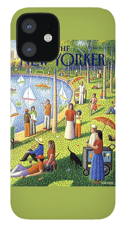 The New Yorker July 15th, 1991 IPhone 12 Case