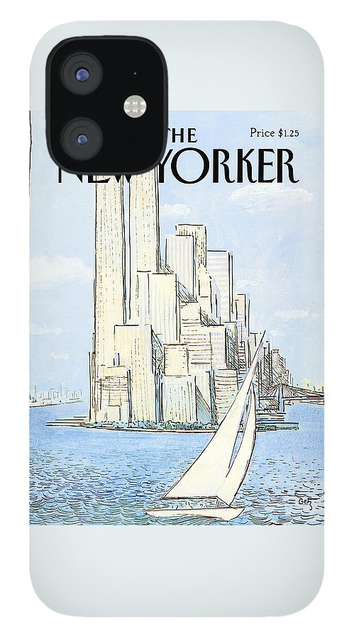 New Yorker July 19th, 1982 iPhone 12 Case