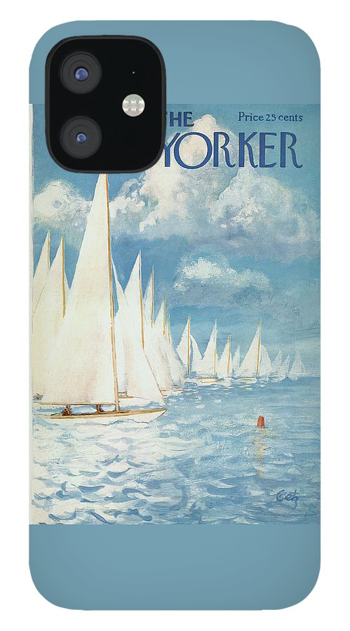New Yorker Cover - June 13th, 1959 IPhone 12 Case