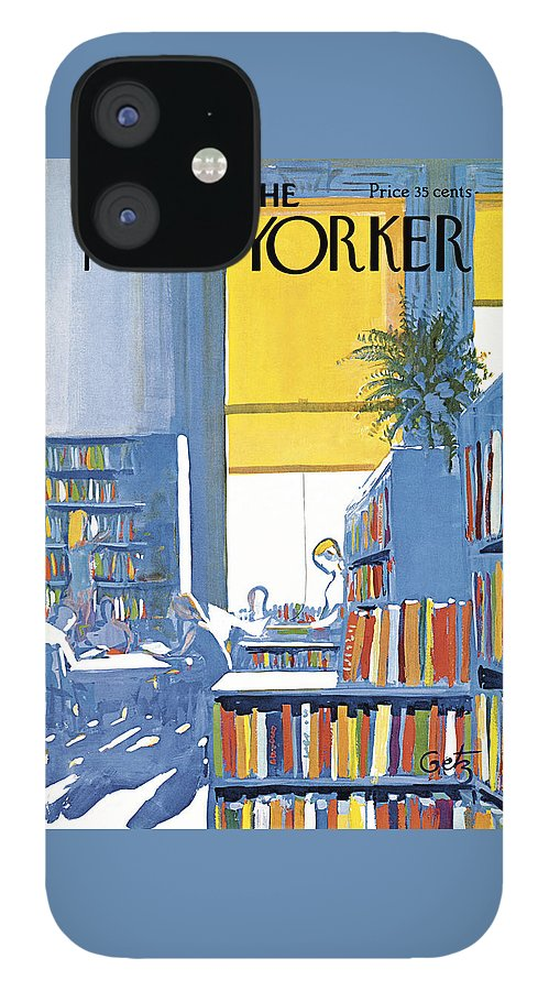 New Yorker June 29th 1968 IPhone 12 Case