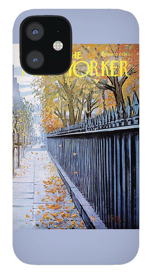 New Yorker October 19, 1968 IPhone 12 Case
