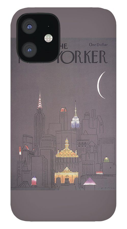 New Yorker October 1st, 1979 iPhone 12 Case