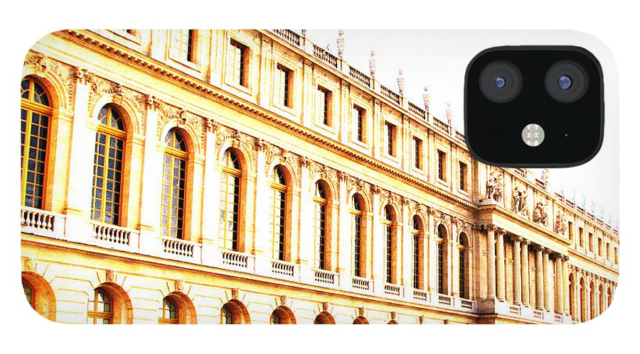 Versailles IPhone 12 Case featuring the photograph The Palace by Amanda Barcon