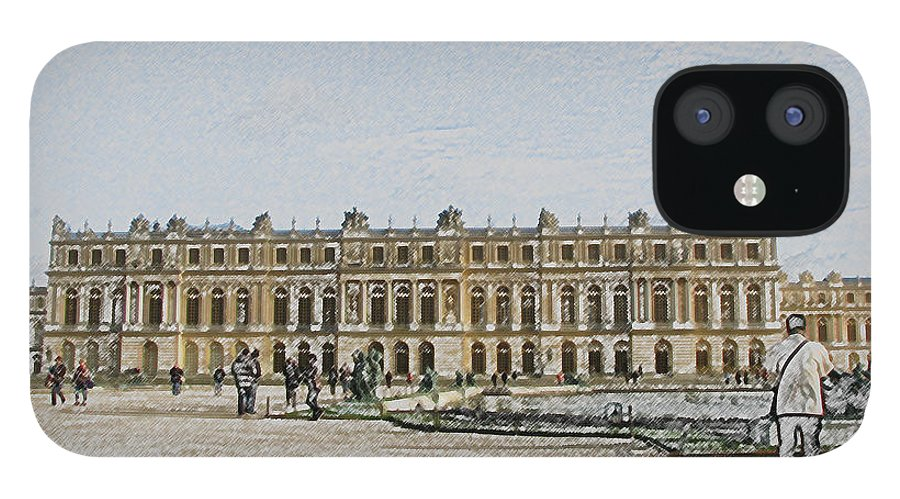 Palace IPhone 12 Case featuring the photograph The Palace of Versailles by Amanda Barcon
