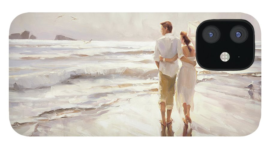 Love IPhone 12 Case featuring the painting The Way That It Should Be by Steve Henderson