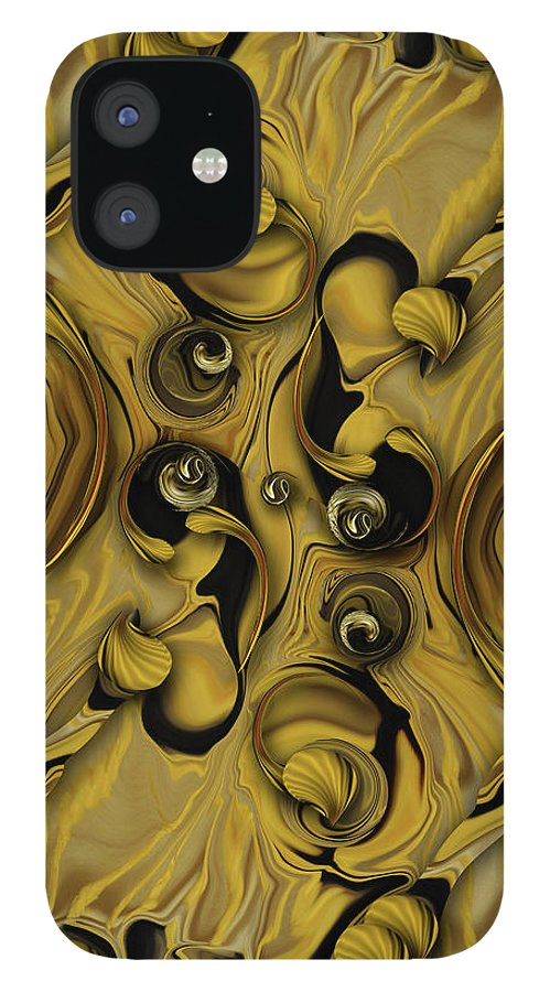 Flower Pattern IPhone Case featuring the photograph Theme from Indestructible Metamorphosis by Carmen Fine Art