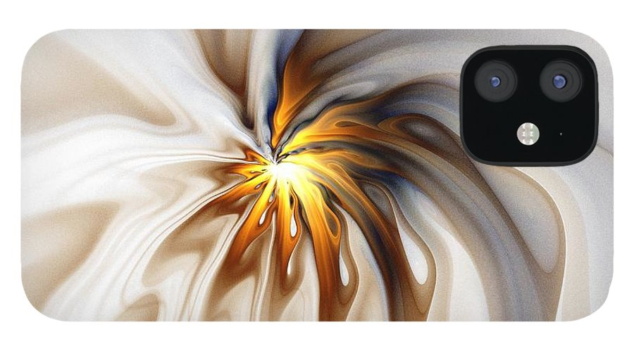 Digital Art iPhone 12 Case featuring the digital art This too will pass... by Amanda Moore