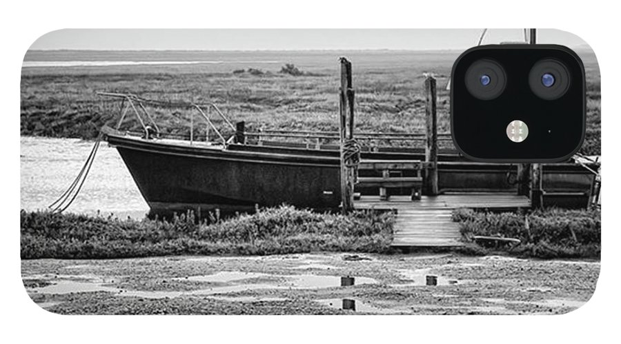 Amazing IPhone 12 Case featuring the photograph Thornham Harbour, North Norfolk by John Edwards