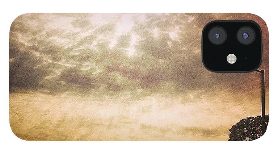 Sanfrancisco IPhone 12 Case featuring the photograph Thursday Morning. Broadway And Divis by Felicia Zurich-Gallagher