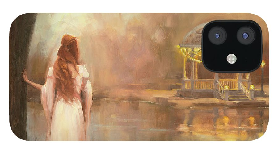 Romance IPhone 12 Case featuring the painting Timeless by Steve Henderson