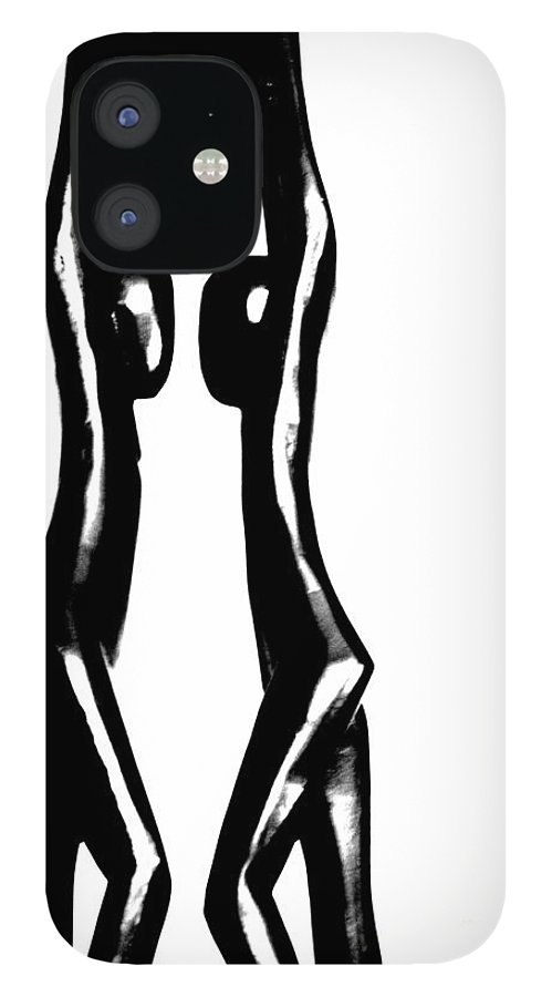 Couple IPhone 12 Case featuring the photograph Together by Amanda Barcon