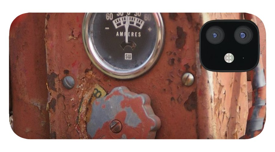 Farmall Tractor IPhone 12 Case featuring the photograph Tractor gage by Toni Berry